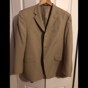 Burberry sports coat.